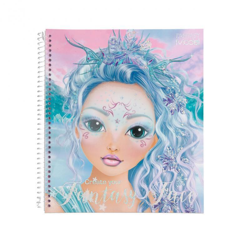TOP Model Сказочный образ макияж ICEFRIENDS набор для творчества (Топ Модель создай образ Depesche 11240)