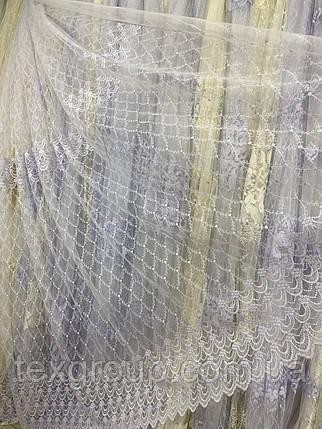 Нежный фатиновый тюль №1026, фото 2