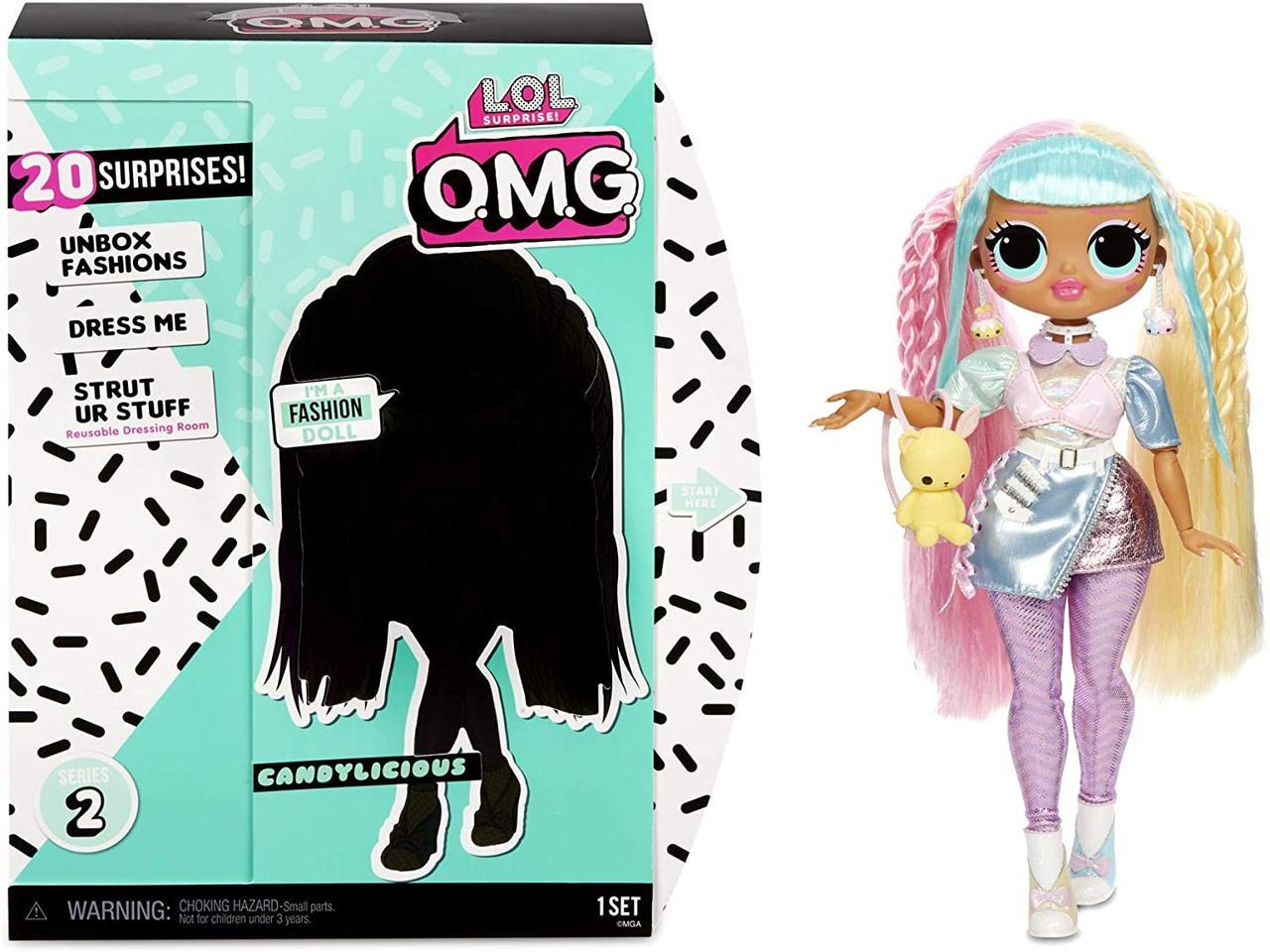 LOL Surprise OMG Candylicious Кукла ЛОЛ ОМГ Леди Бон-Бон