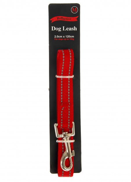 Поводок для собак со светоотражающей нитью Reflective 120 см
