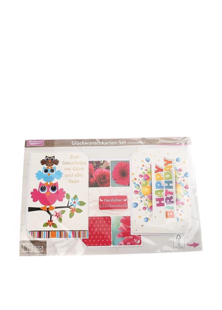 Набір листівок і конвертів 6+6 шт. Melinera