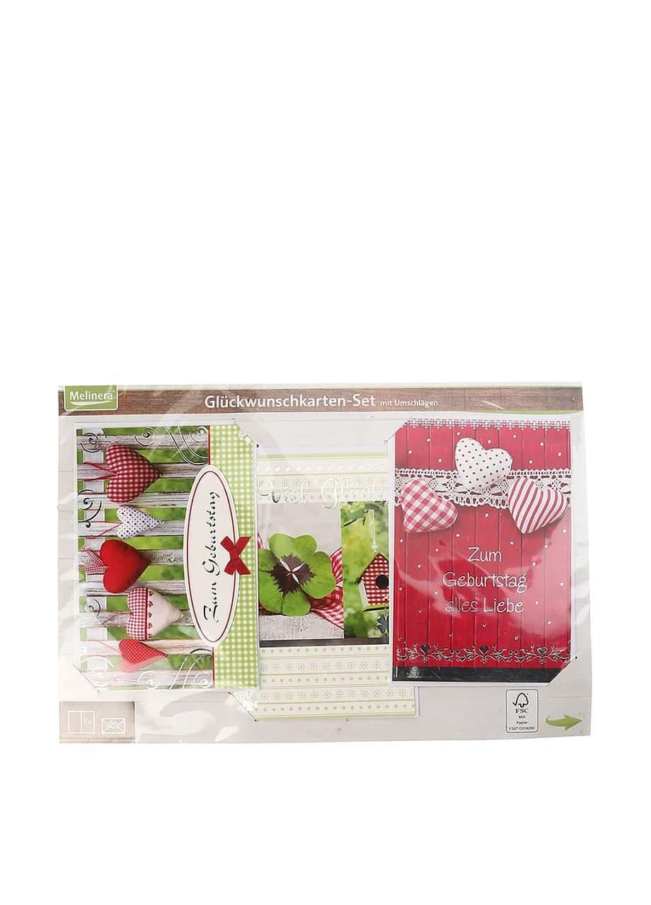 Набор открыток и конвертов 6+6 шт. Melinera