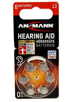Батарейки Ansmann 13/PR48 1.45 6шт