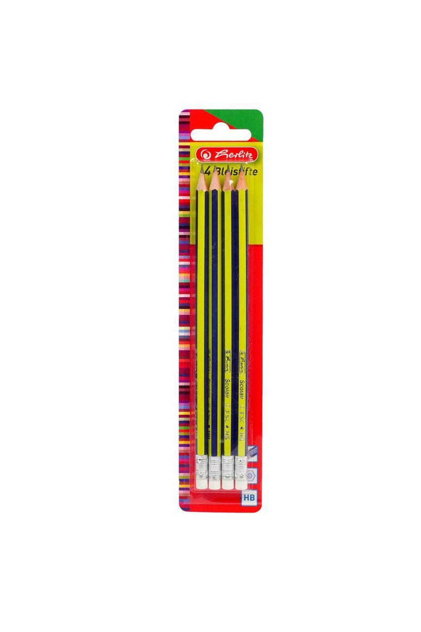 Набор карандашей herlitz 4 шт