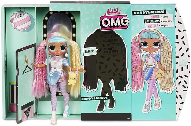 Кукла ЛОЛ Сюрприз ОМГ Леди Бон-Бон - LOL Surprise OMG Candylicious 28 см Серия 2