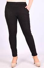 Шерстяные женские брюки с мехом ИРА 541 с карманами 5XL разные рисунки ЛЖЗ-120402