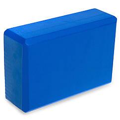 Блок для йоги planeta-sport FI-1536 Синий