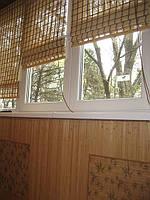 Поклейка бамбуковых обоев на балконе (2 цвета)Тернопіль
