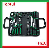 Toptul GPN-043A. Набор слесарных инструментов, для дома, ремонта, домашний, универсальный, ручной, домашнего., фото 1