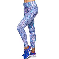 Лосины для фитнеса и йоги planeta-sport Domino YH49 L рост 170-180 Разноцветный
