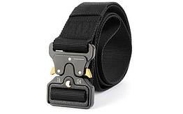 Ремень тактический Tactical Belt TY-6840 125*3,8см Черный