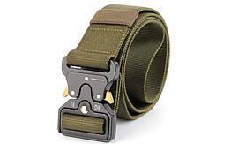 Ремень тактический Tactical Belt TY-6840  125*3,8см Оливковый