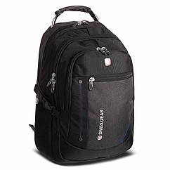 Рюкзак городской planeta-sport VICTOR 35л 6620 20x35x47см USB Темно-серый