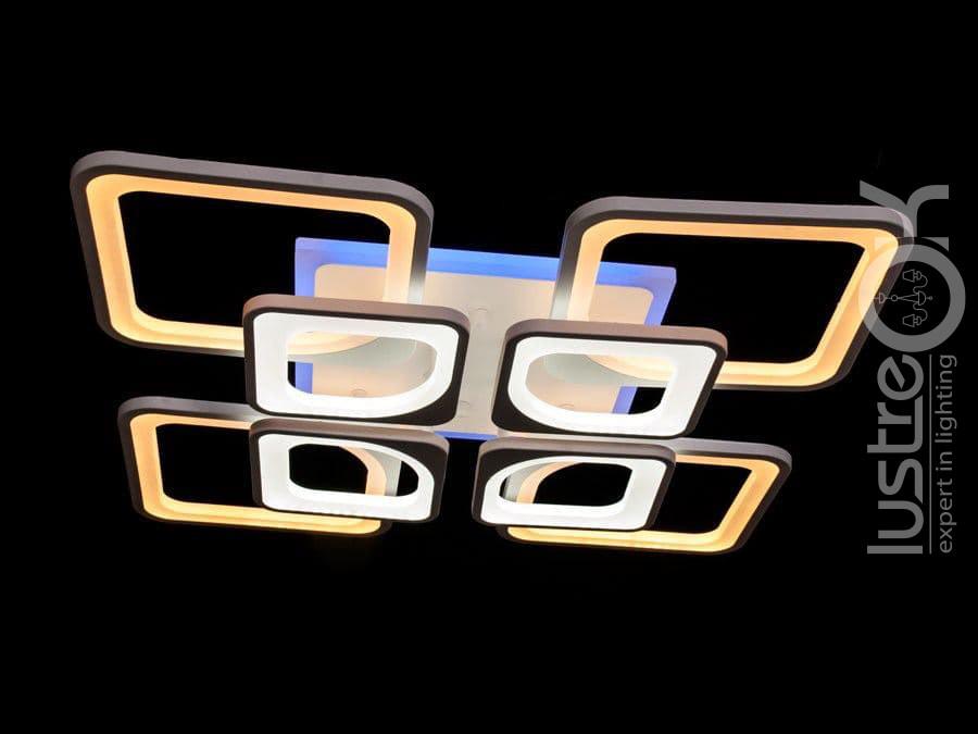 Люстра светодиодная потолочная Люстра с подсветкой Люстра с пультом управления