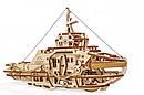Механические 3D пазлы UGEARS - «Буксир», фото 2