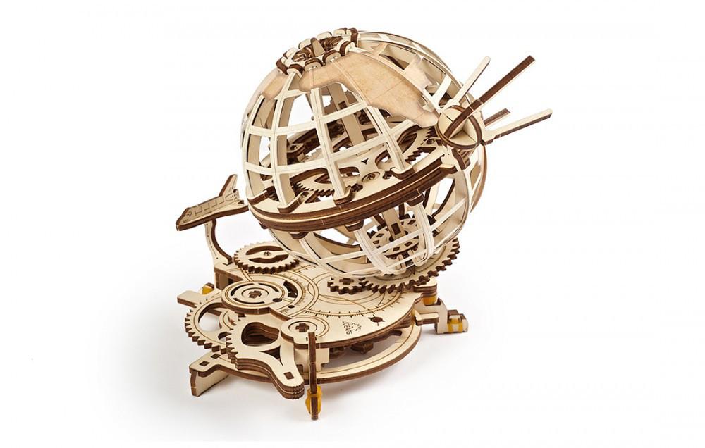 Механические 3D пазлы UGEARS - «Глобус»