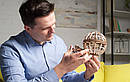 Механические 3D пазлы UGEARS - «Глобус», фото 3