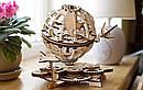 Механические 3D пазлы UGEARS - «Глобус», фото 4