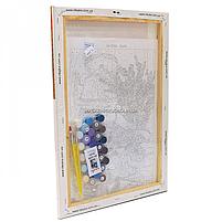 Картина за номерами Ідейка «Лавандова чаювання» 35x50 см (КНО5558), фото 3