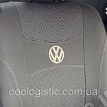 Авточехлы Nika на Volkswagen Polo 5 sedan 2009-2015 раздельная,Фольксваген Поло 5, фото 2