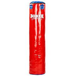 Мешок боксерский planeta-sport Цилиндр ПВХ h-140см BOXER Классик 1003-01 Красный