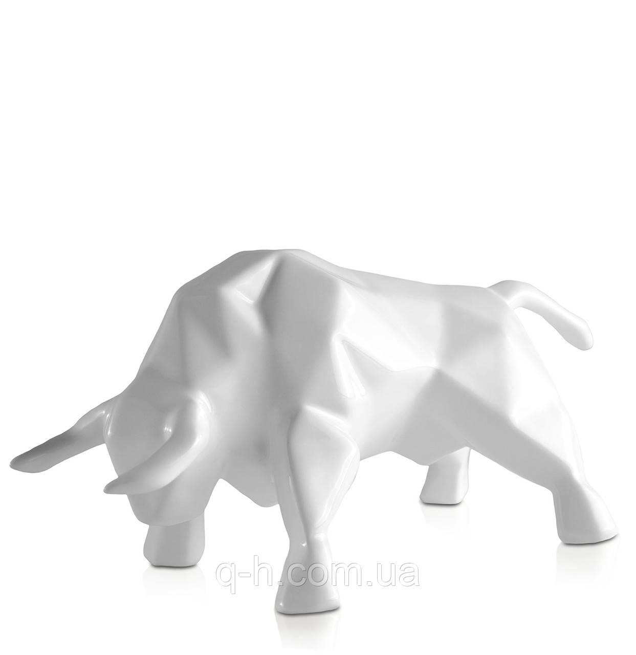 Статуэтка керамическая Eterna Бык белый (2051-12)