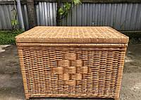 Ящик-сундук плетеный из натуральной лозы 40x60х40 см (LI50121)
