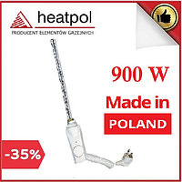Тэн Heatpol GTN 900W с термостатом для полотенцесушителей (белый)
