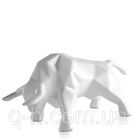Статуэтка керамическая Eterna Бык белый (2051-12), фото 2