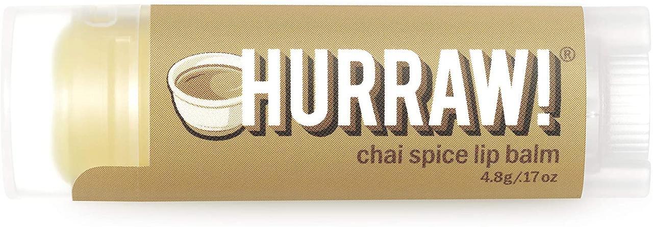 Hurraw! Chai Spice Lip Balm Бальзам для губ 4,8 г.