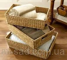 Лотки плетеные и лозы 40*30*15, фото 2