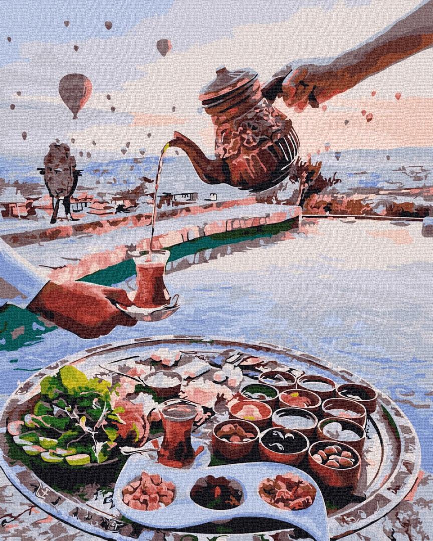 Картина по номерам - Турецкое чаепитие Brushme 40*50 см. (GX26567)
