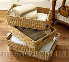 Лотки плетеные и лозы 45*25*15, фото 2