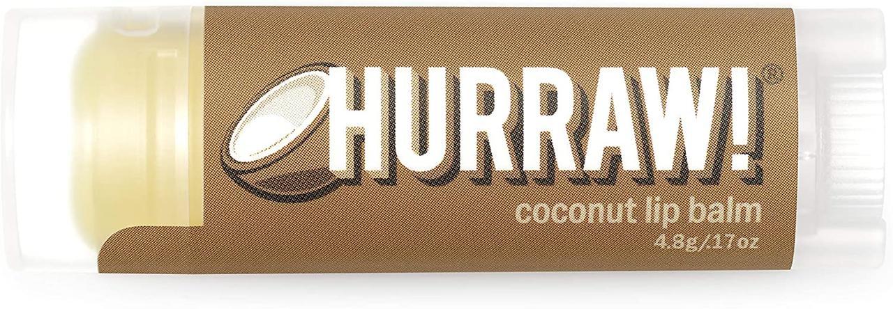 Hurraw! Coconut Lip Balm Бальзам для губ 4,8 г.