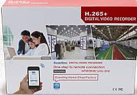 Регистратор DVR MVR 1008 4.0mp для IP камер 8-CAM