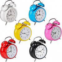 Настольные часы - будильник 668/Х2-34(16)17*12*5,5 см купить оптом в интернет магазине