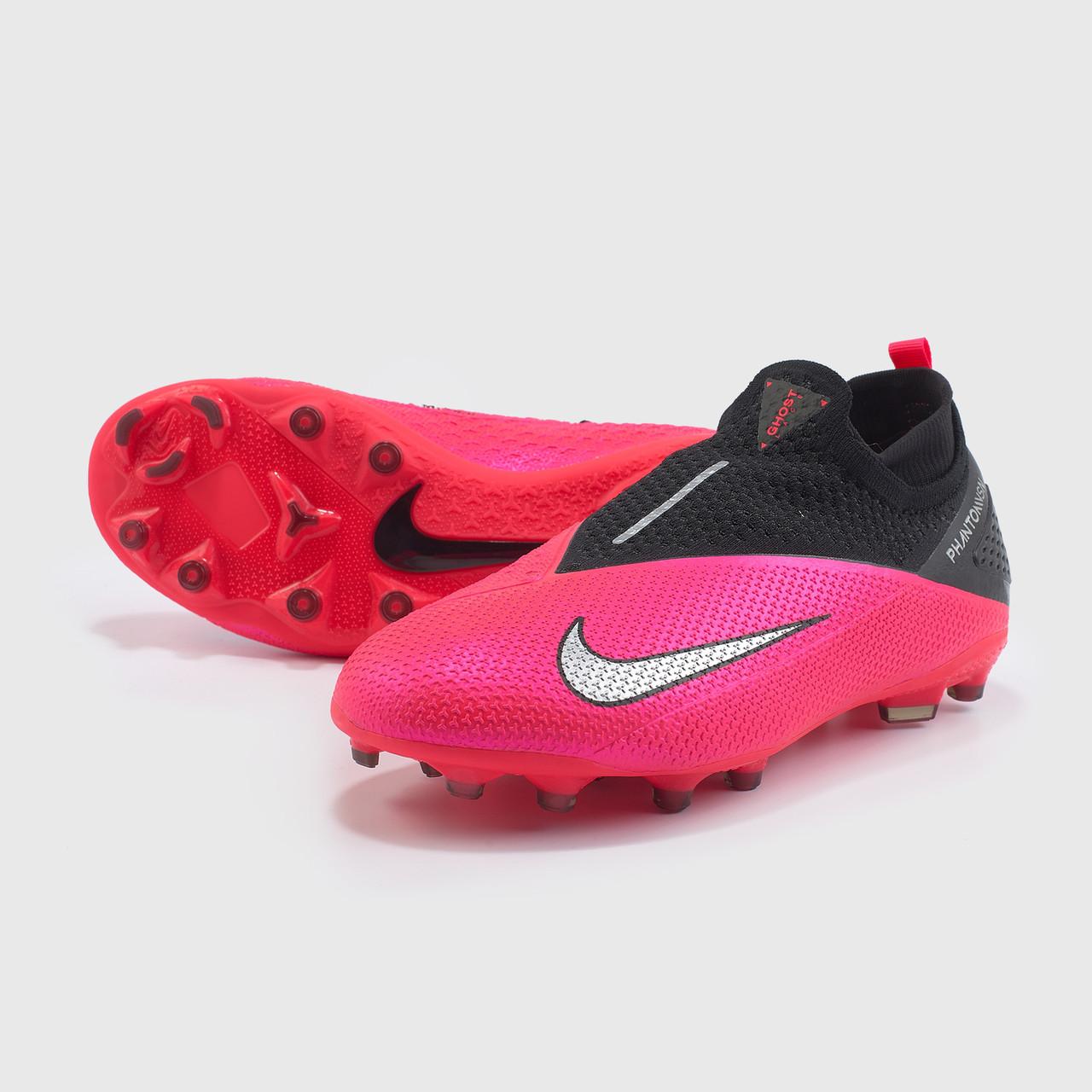 Детские футбольные бутсы Nike  Phantom Vsn 2 Elite DF MG  (Оригинал)