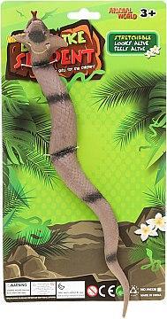 Игрушка-тянучка антистресс Змея Animal World W6328-176