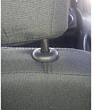 "Авточехлы Nika на Daewoo Nexia 1 sedan 1994-2008 з/ сп цельная «горбы"", фото 5"