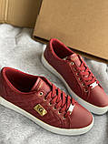Красные яркие кроссовки, кеды новые Guess, фото 2