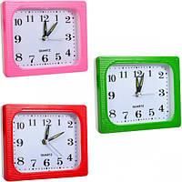 От 4 шт. Настольные часы - будильник Х2-15 12*10*4 см купить оптом в интернет магазине От 4 шт.
