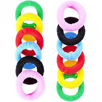 От 5 шт. Резиночки для волос 12 штук 12-59 купить оптом в интернет магазине От 5 шт.