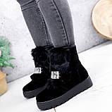 Ботинки женские Diana черные ЗИМА 2792, фото 3