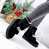 Ботинки женские Diana черные ЗИМА 2792, фото 5