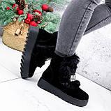 Ботинки женские Diana черные ЗИМА 2792, фото 9