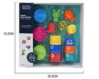 Іграшка G-B029 для купання, тварини, 5шт., пірамідка, кор., 32-32-7см.