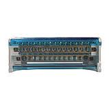 ElectroHouse Шина нулевая в корпусе (кросс-модуль) 2X15 125A IP20, фото 2