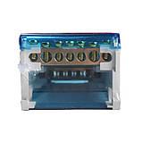 ElectroHouse Шина нулевая в корпусе (кросс-модуль) 4X7 125A IP20, фото 3