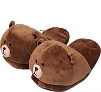 Тапочки-игрушки Медведи,38-41