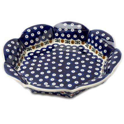 Фруктовница / конфетница, керамическое блюдо 26,5 Вишенки, фото 2